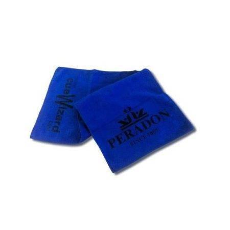 Peradon Cue Towel Blue