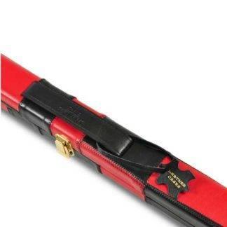 Peradon BLK Red Leather 1pc Case T