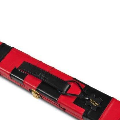 Peradon BLK Red Leather 1Pc Case W