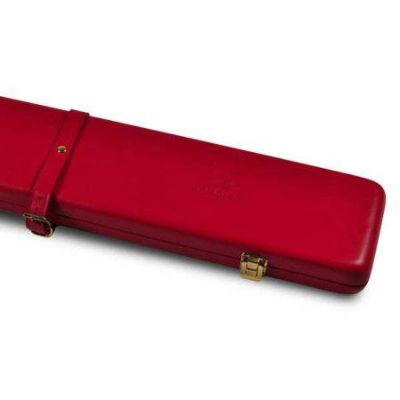 Peradon Red Leather 3QTR Case