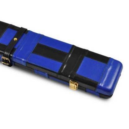 2696 Peradon black and blue case leather