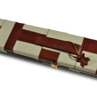Peradon Tan Cream Leather 3QTR Case