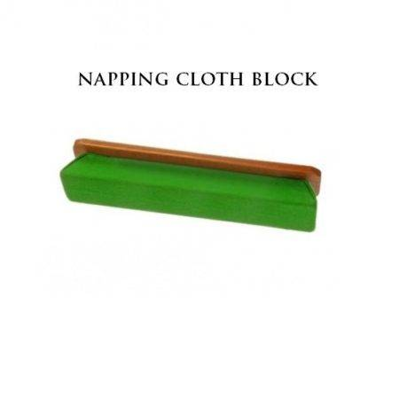 peradon cloth napping block used when cleaning table