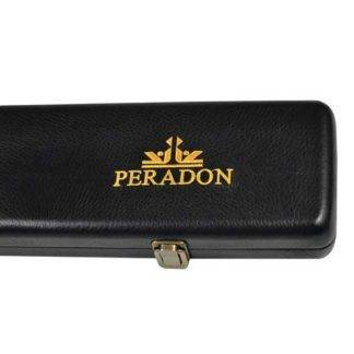 Peradon Leatherette Black three quarter cue case