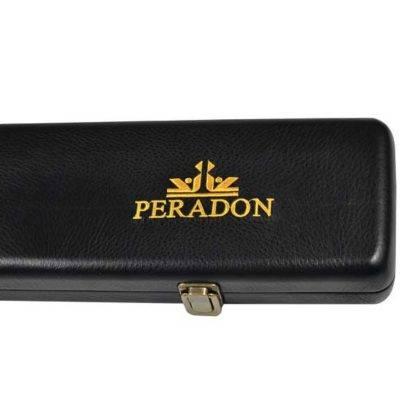 Peradon Leatherette Black three quarter cue case