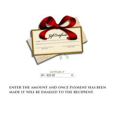 Store Credit / Gift Certificate for snooker and pool