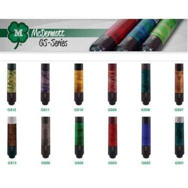 McDermott Maple Shaft Cues