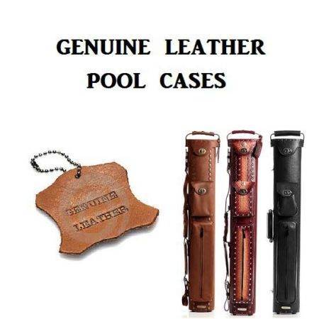 Genuine Leather Pool Case
