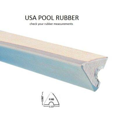 rubber usa pool k66