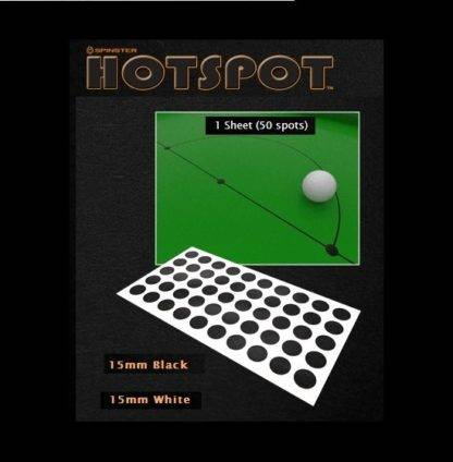 Snooker Spots Black and White