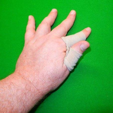 Pool and Snooker Glove Finger Wraps