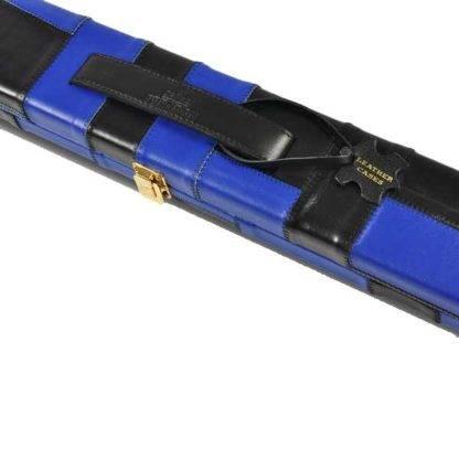 Peradon Black Blue Leather 1Pc Case W