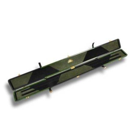 Snooker Cue Case Black and Green