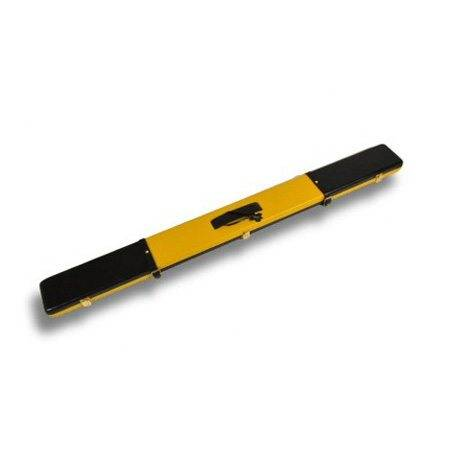 Peradon Leather Case Black and Yellow 3/4