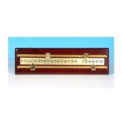 Scoreboard 2 Mahogany Coloured