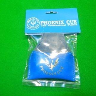Phoenix Leather Chalk Pouch Dark Blue