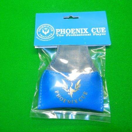 Phoenix Leather Chalk Pouch Dark Blue