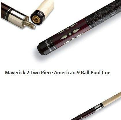 Maverick 2 Two Piece American 9 Ball Pool Cue