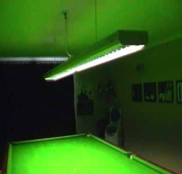 Snooker and Pool Table Light 6ft - 8ft
