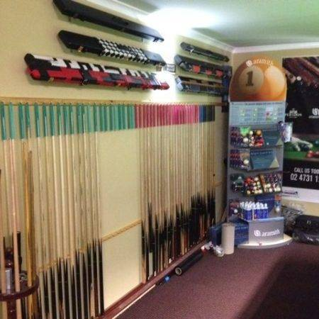 Cue Hangers for Pool and Snooker