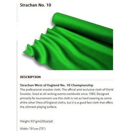 Strachan 30 Ounce No 10 Cloth