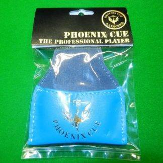 Phoenix Leather Chalk Pouch Light Blue