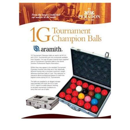 Snooker Aramith Pro 1 g