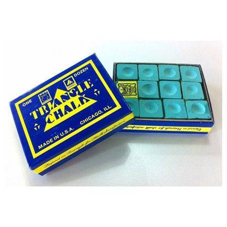 Tweeten Triangle chalk box of 12 - Green