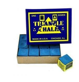 Triangle Blue Chalk