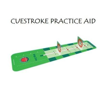 CUESTROKE used to improve your pool and snooker cueing