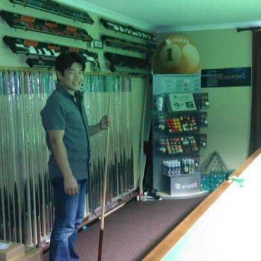masato from Kamui tips at world cue sports
