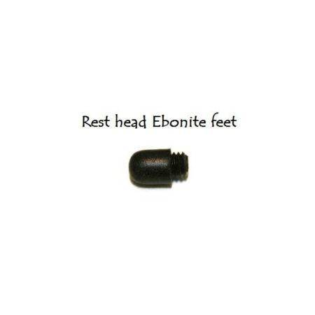 ebonite cross rest head feet for snooker or pool rests