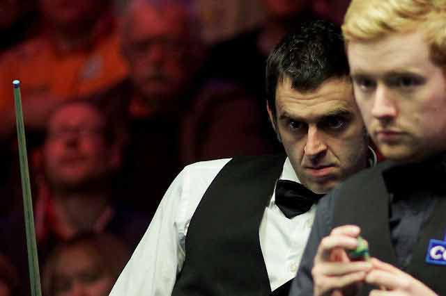 ronnie-and-ben uk snooker championship 2014