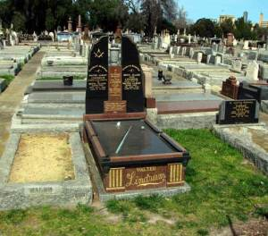 walter lindrum grave site melbourne