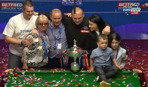 World Snooker Final Bingham Wins