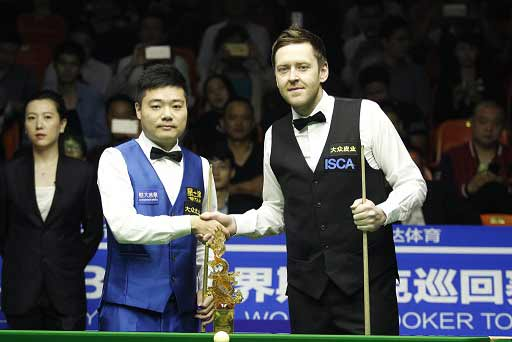 Ding Junhui wins the Haining Open