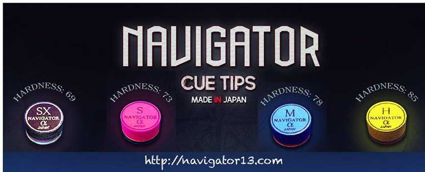 navigator cue tips for pool
