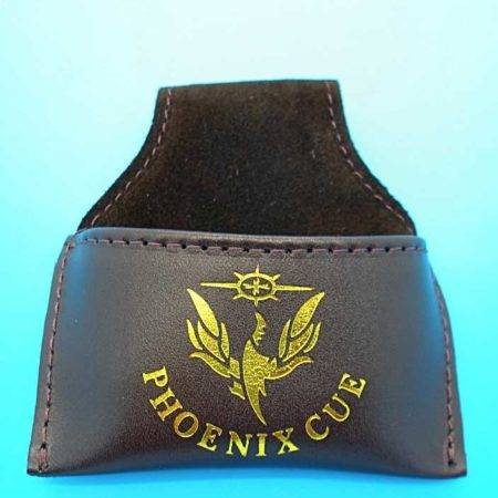 Phoenix Leather Chalk Pouch Black
