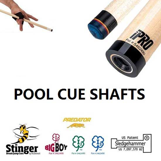 Pool and Snooker Shafts