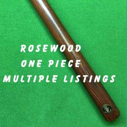 One Piece Rosewood Billiard Cue
