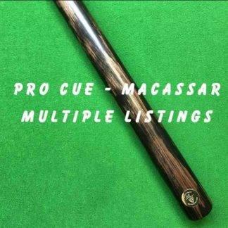 Pro Cue One Piece Macassar