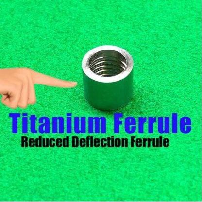 Titanium Billiard Ferrules