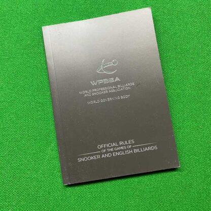 WPBSA Official Rule Book