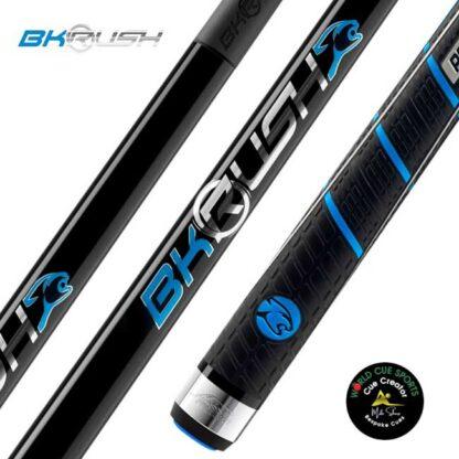 Bk Rush black rubber grip